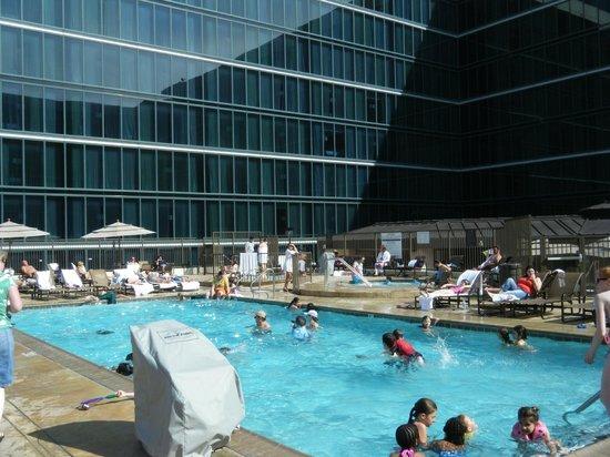 Hilton Anaheim Roof Pool Area