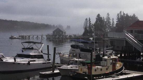 Tugboat Inn: Fog Rolling In