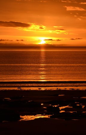 Parkdean - Grannie's Heilan' Hame Holiday Park: The Sunrise last Thusrday morning - spectacular