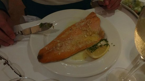 The Lobster Pot : Fish was overcooked - and not very fresh to start with
