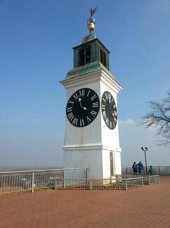 Petrovaradin, Srbija: the clocktower