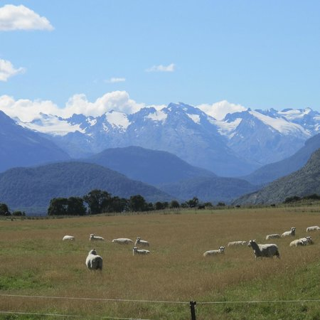 Guided Walks New Zealand: At the end of the day's walk.  What a view ultimate NZ