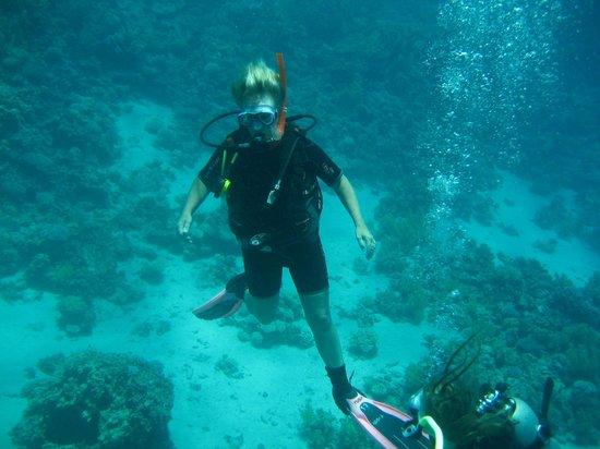 Sea Dancer Dive Center: welsh mam