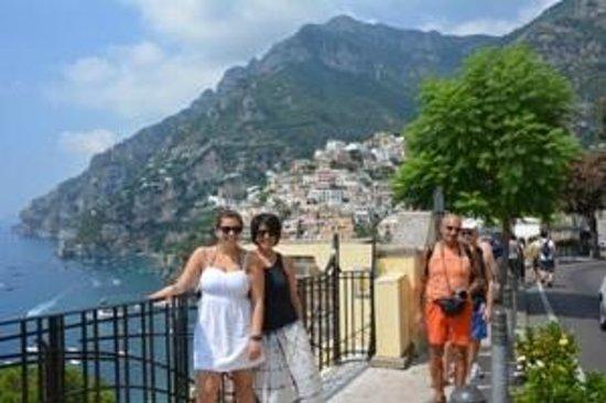 Best Rome Driver Private Tours: Positano View