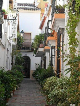 Hotel La Morada Mas Hermosa: Entrée de l'hôtel