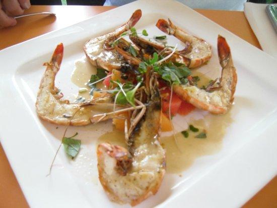 Jaloa Brasserie Jardin: Gamberoni