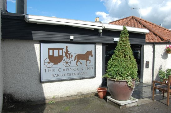 The Carnock Inn: Entrance