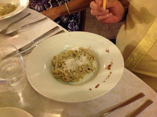 Il Piccolo Castello Hotel : Linguini