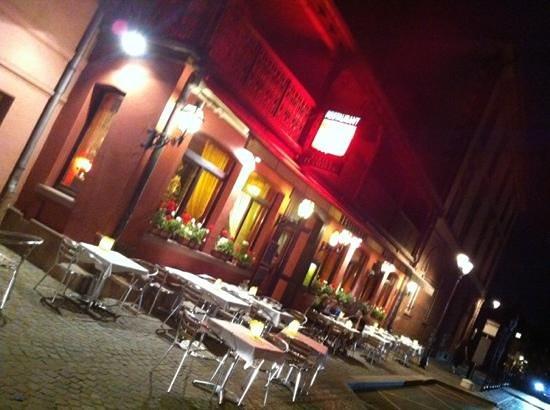 Cr me brul e foto van maison rouge colmar tripadvisor for Restaurant la maison rouge colmar