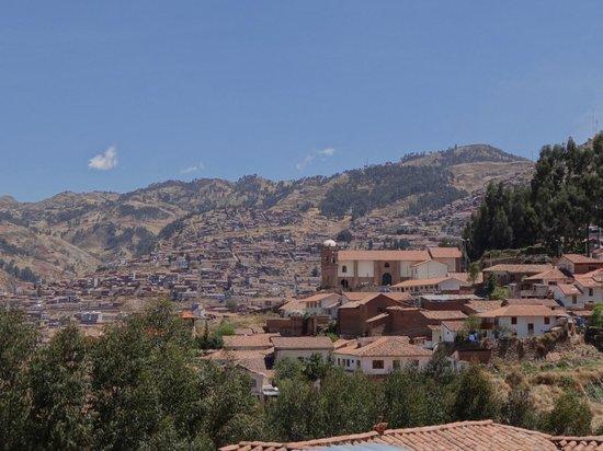 Quinua Villa Boutique: View of Cusco from the Quinua