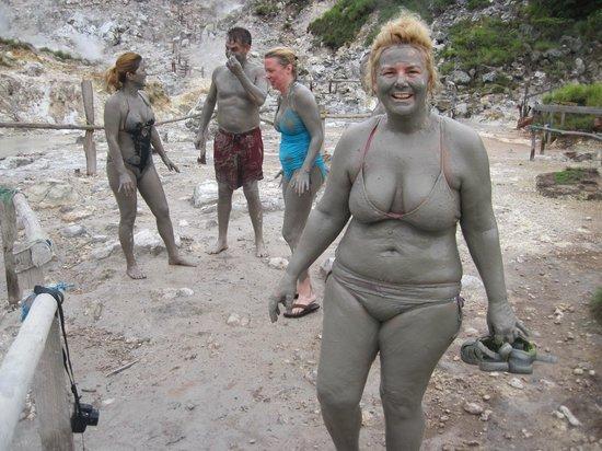 Condovac la Costa: Mud bath while on tour