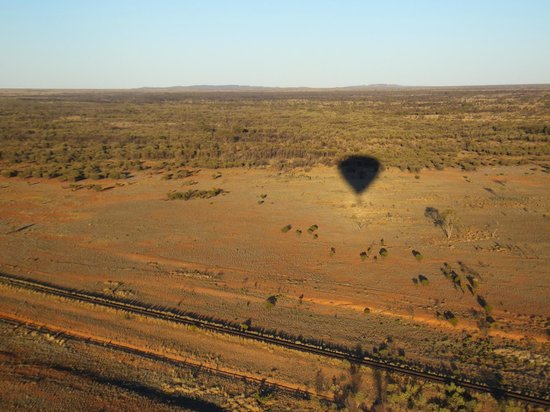 Outback Ballooning: View from the balloon
