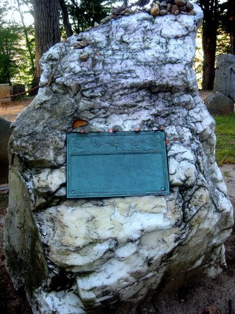 Sleepy Hollow Cemetery: Waldo's stone