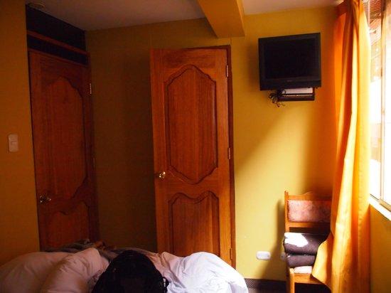 Inti Punku Machupicchu Hotel: 室内