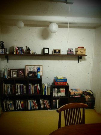 Ogamul Guesthouse: 공동 공간 shared room, reading, internet etc.