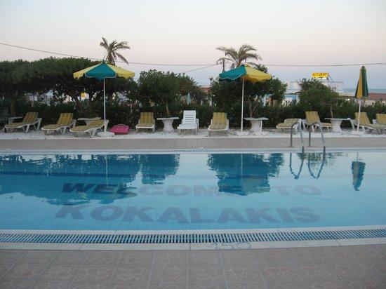 Kokalakis Beach Hotel: Piscina hotel kokalakis