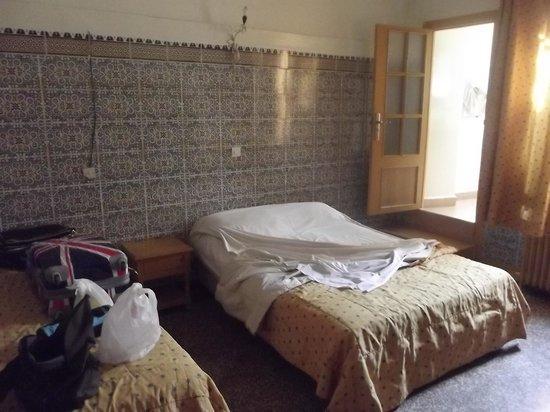 Hotel Foucauld : il faut aimer le carrelage