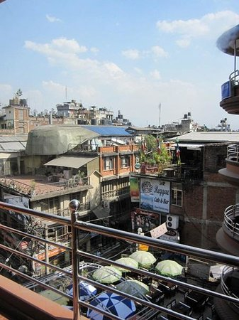 Hotel Access Nepal: View from Balcony