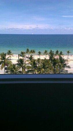 Sonesta Fort Lauderdale Beach: View from 8th Floor