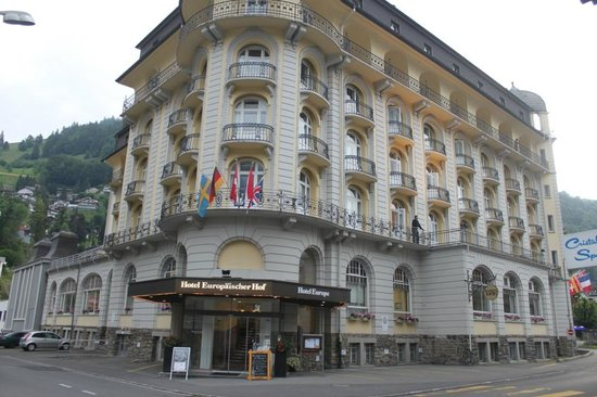 Europäischer Hof Hotel Europe: My first look at the hotel