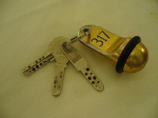 Europaeischer Hof Hotel Europe : The key to my room