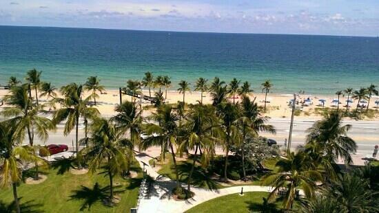 Sonesta Fort Lauderdale Beach: view from room 8th floor