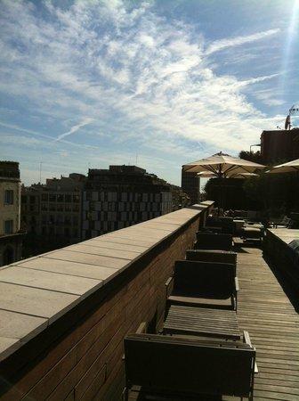Hotel Omm: Rooftop terrace.