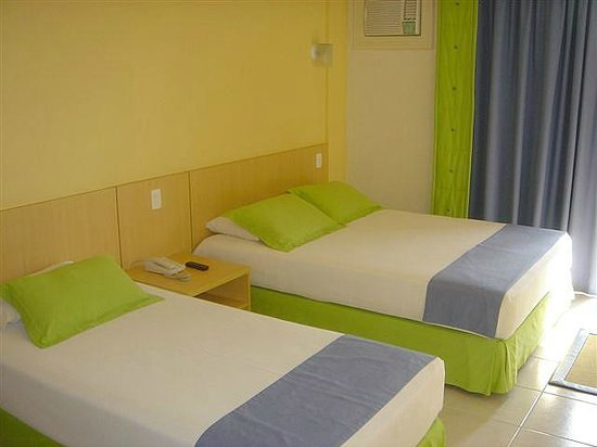 Praiatur Hotel Florianopolis: Quarto Superior com camas separadas