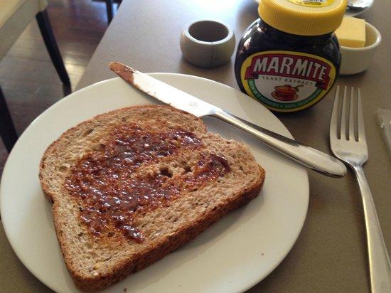 Ardmor House: Marmite