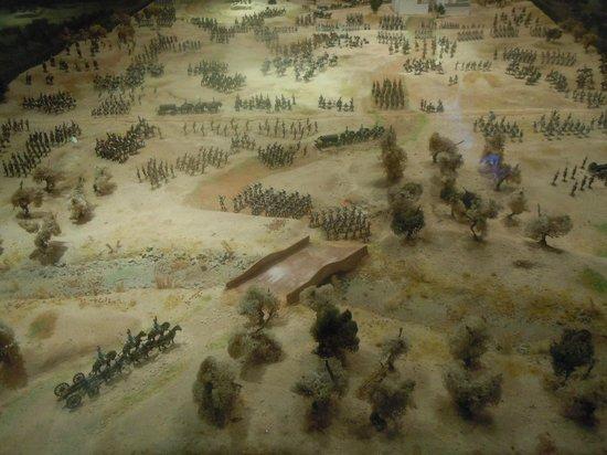 Castell de Sant Carles: reconstitution de bataille
