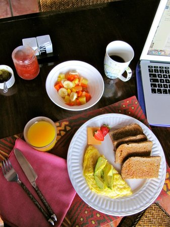 Casa Bella Rita Boutique Bed & Breakfast : Breakfast