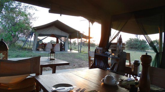 Ubuntu Camp, Asilia Africa: Dining & Lounge Areas