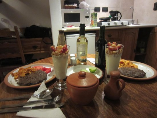 Casa San Blas Boutique: romantic dinner