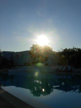 Tenuta Centoporte: tramonto