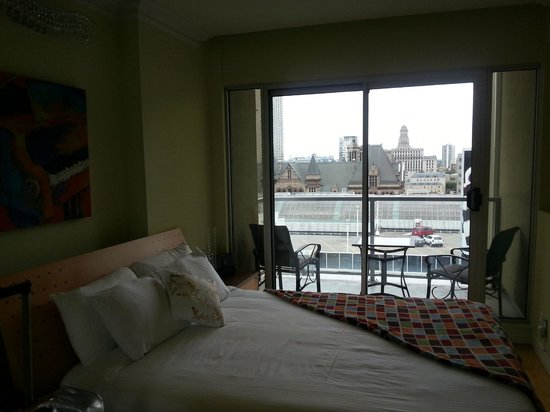 Yonge Suites Furnished Apartments : View from Master bedroom
