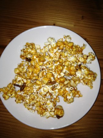 Hock Farm Craft & Provisions: Caramel Corn with Bacon and Cashews