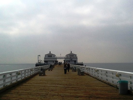Malibu Pier: Run Forrest Run!