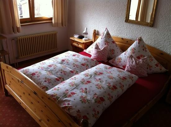 Ellerhof : Zimmer mit Balkon