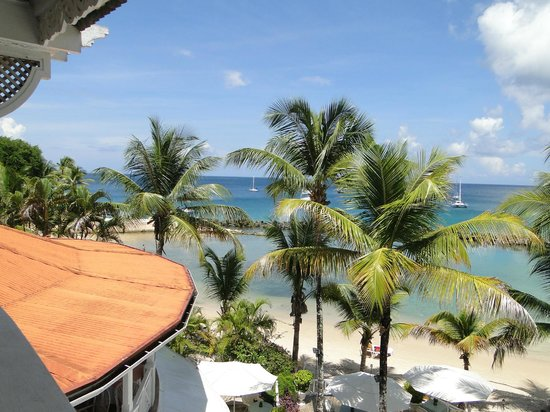 """Coco Reef Resort & Spa Tobago: View from our (""""Reef"""") room"""