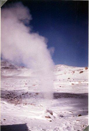 Uyuni, Βολιβία: Geiseres y fumarolas