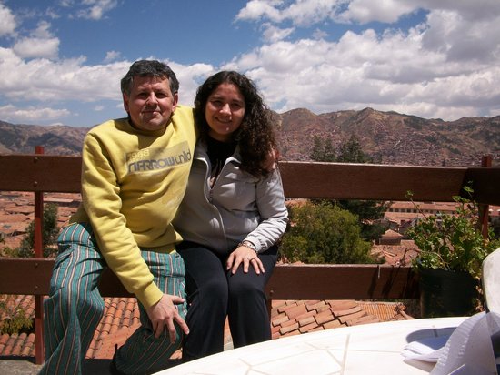 Samay Wasi Youth Hostels Cusco: terraza soleada