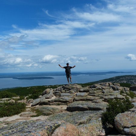Yellow House Bed & Breakfast: Top of Cadillac Mountain