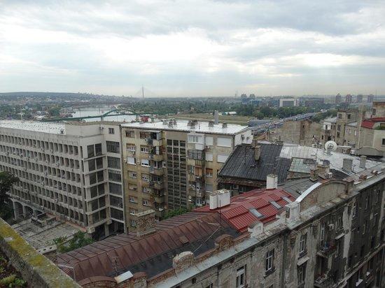 Hotel Palace: вид из окна
