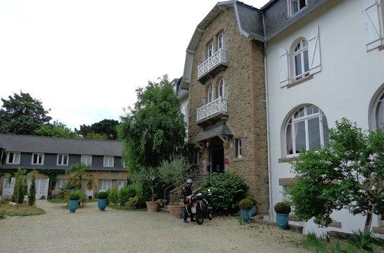 Park Hotel Bellevue : villa bretone primi novecento
