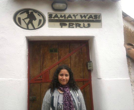 Samay Wasi Youth Hostels Cusco: entrada al hostal