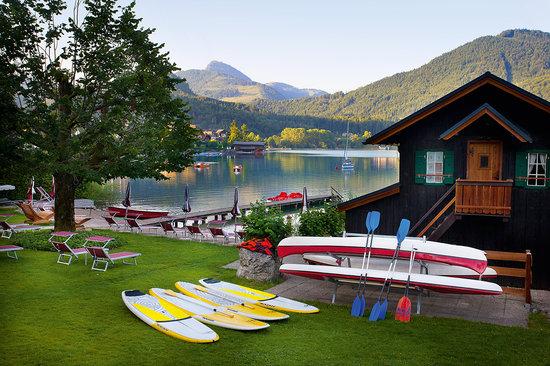 Hotel Seewinkel: Privatstrand mit gratis Wassersportgeräten