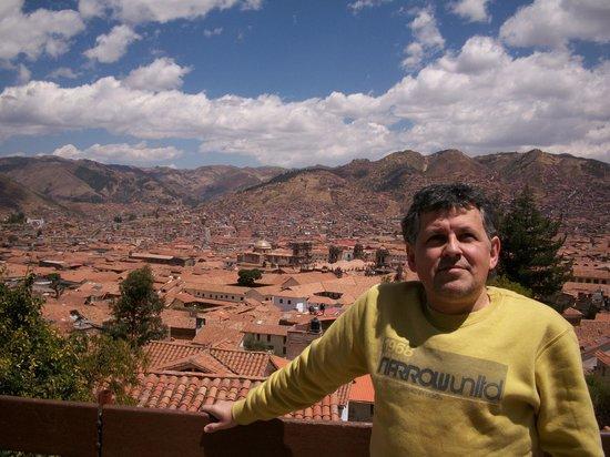 Samay Wasi Youth Hostels Cusco : terraza