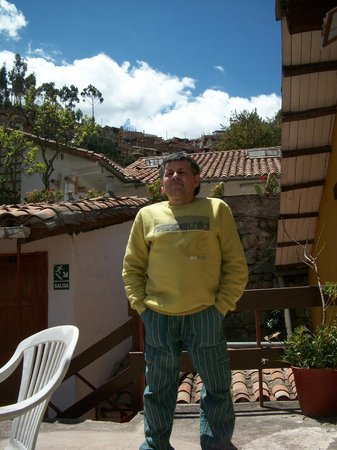 Samay Wasi Youth Hostels Cusco: terraza