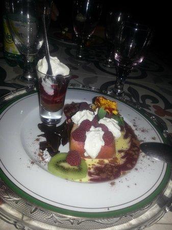 La Guérinière : Un dessert magnifique et excellent