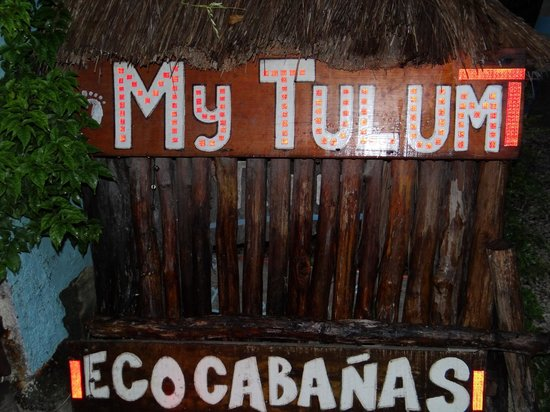 My Tulum Cabanas: SIGN